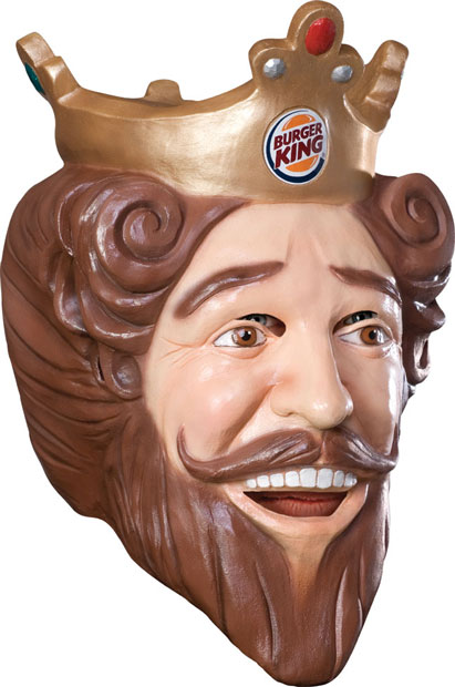 Deluxe Burger King Mask