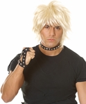 Adult Blonde Billy Idol Wig