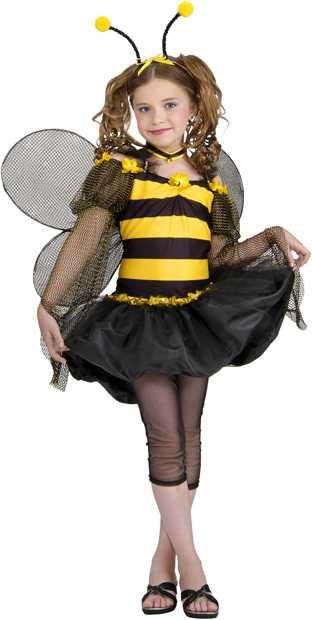 Preteen Sweet Bumble Bee Costume