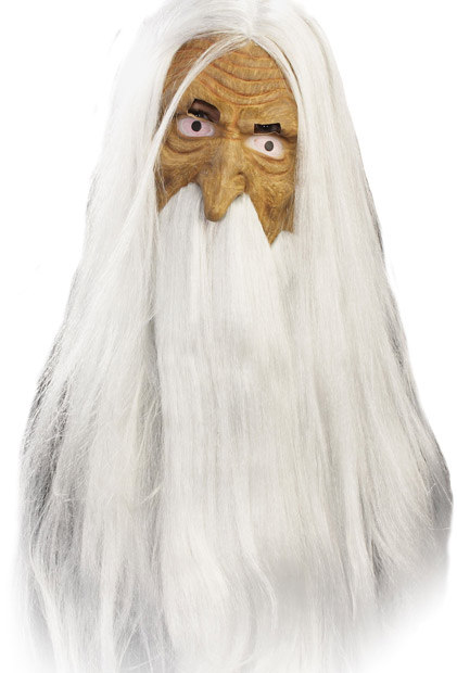 White Wizard Mask