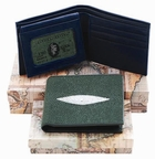 Men's Stingray Leather Billfold Wallet