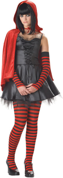 Teen Little Dead Riding Hood Costume