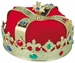 Adult Red King Crown Hat