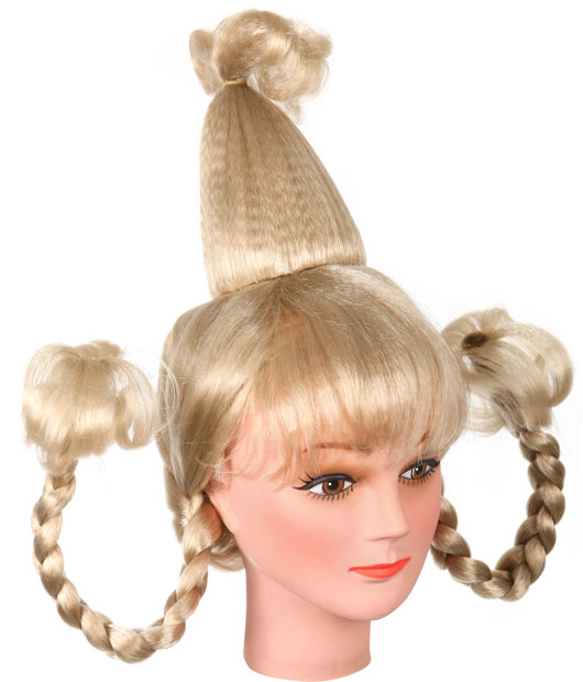 Cindy Lou Who Costume Wig Dr Seuss Wigs Brandsonsale Com
