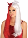 Adult Devil Angel Costume Wig