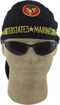 Embroidered Marine Skull Cap