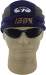 Embroidered Airborne Fleece Skull Cap