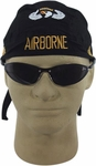 Embroidered Airborne Skull Cap