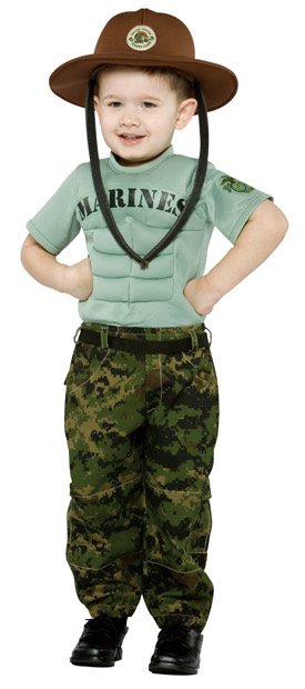 Toddler Marine Corps Uniform Costume