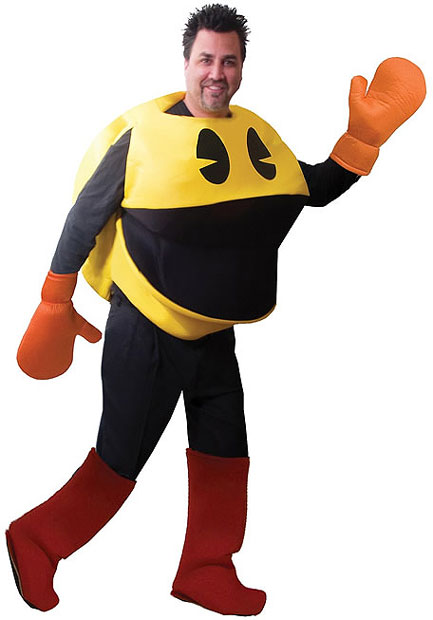 Adult Pac-Man Deluxe Costume