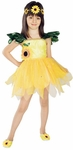 Child's Sunflower Princess Costume