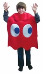 "Child's Pac-Man ""Blinky"" Red Ghost Deluxe Costume"