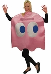 "Adult Pac-Man ""Pinky"" Pink Ghost Deluxe Costume"