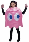 "Child's Pac-Man ""Pinky"" Pink Ghost Deluxe Costume"