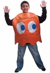 "Child's Pac-Man ""Clyde"" Orange Ghost Costume"