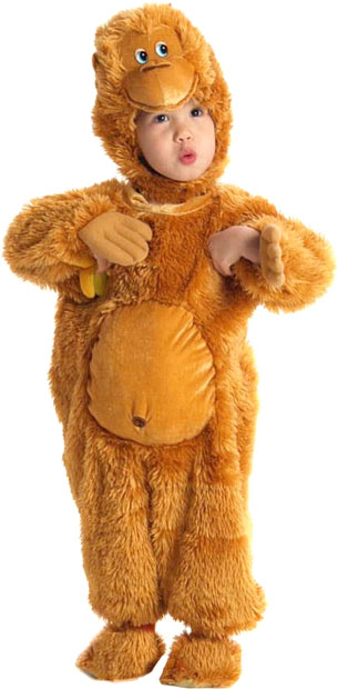 Toddler Adorable Monkey Costume