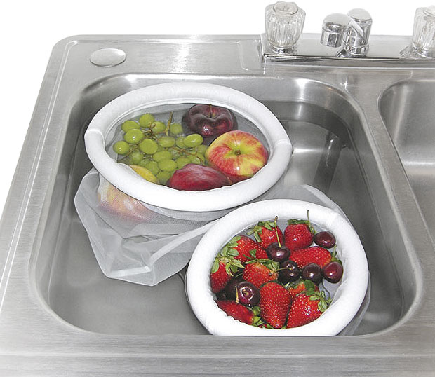 Fruit & Vegetable Washing Strainer Bags