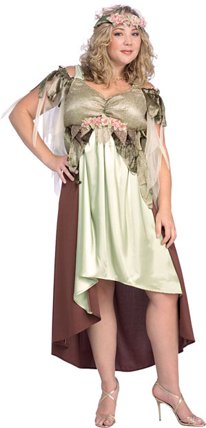 Women's Plus Size Nymph Fairy Costume