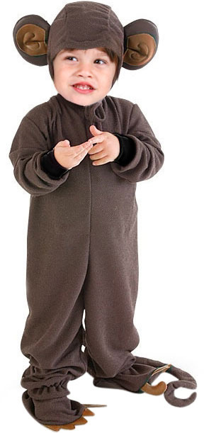 Child's Monkey Suit Costume