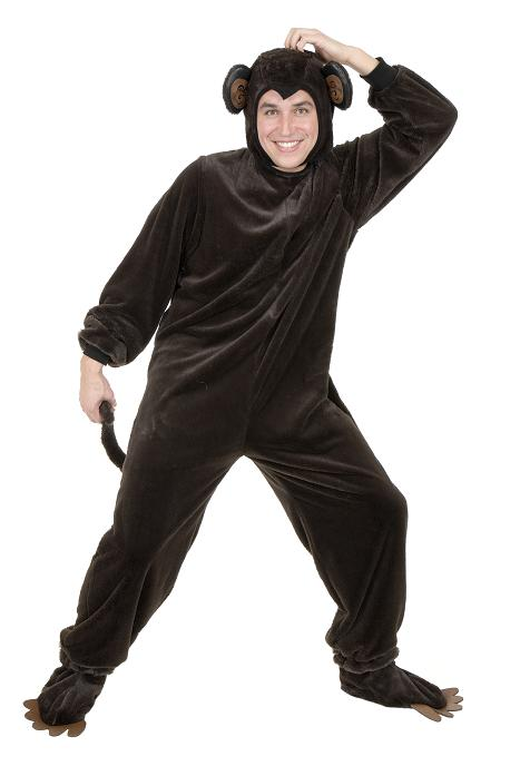 Adult Plush Monkey Costume