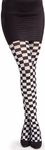 Adult Checkered Costume Tights