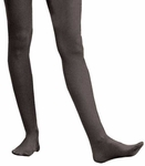 Adult Solid Black Nylon Tights