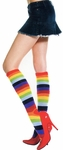 Knee High Rainbow Stockings