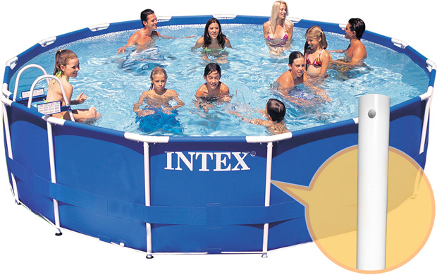 Intex Vertical Leg For 13 14 And 15 Ft Frame Pools 42
