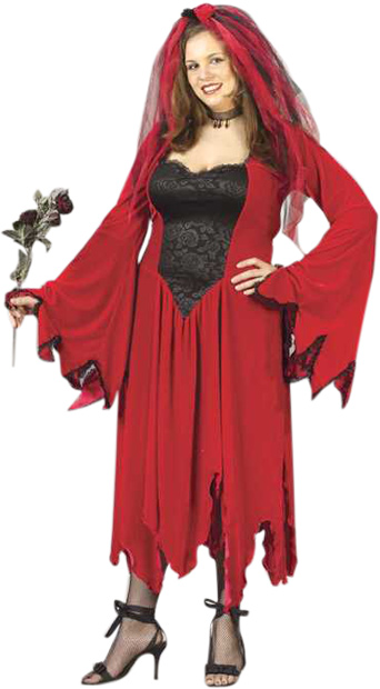 Plus Size Devil Bride Costume