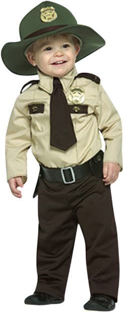 Infant Future State Trooper Costume