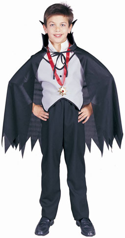 Child's Classic Vampire Costume