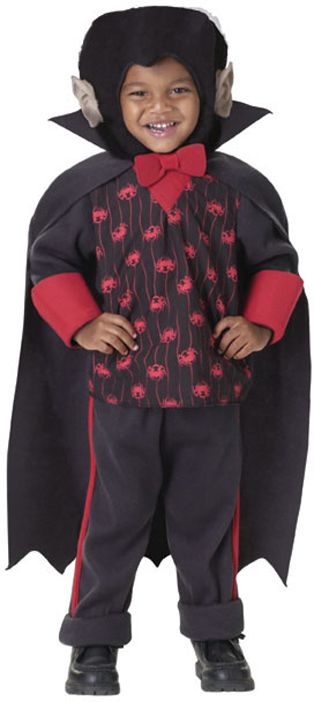 Toddler Count Dracula Vampire Costume