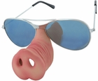 Adult Police Pig Nose And Glasses Set