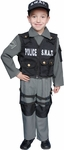 Toddler Police S.W.A.T. Costume