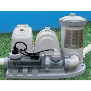 Intex 2000 GPH Filter Pump and Salt System w/ GFCI