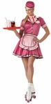 Adult 50s Roller Girl Costume