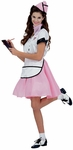 Adult Soda Pop Girl Costume