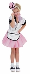 Child's Soda Pop Girl Costume