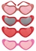 Heart Shaped Glasses