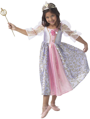 Child's Deluxe Barbie Rapunzel Costume