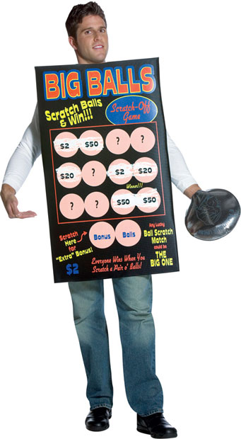 Adult Scratch My Balls Costume
