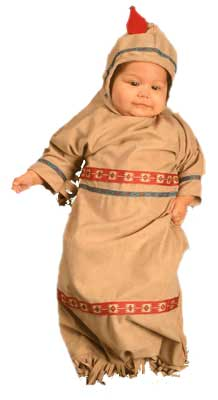 Baby Papoose Costume