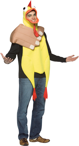 Adult Choking The Chicken Costume