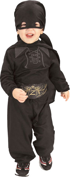 Toddler Zorro Costume