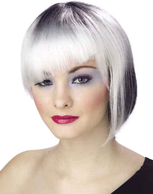 Women's White Neo Punk Wig