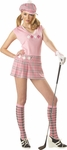 Woman's Sexy Pink Golfer Costume