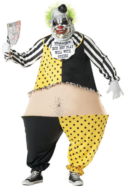 Adult Tiny The Clown Costume