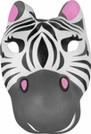 Foam Zebra Mask