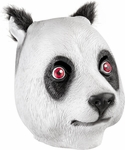 Panda Latex Mask