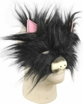 Plush Cat Costume Face Mask